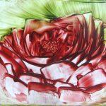 Gevallen roos